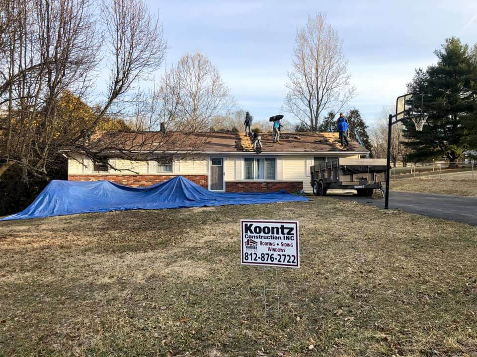 Koontz Professional & Affordable Bloomington Roof Replacement