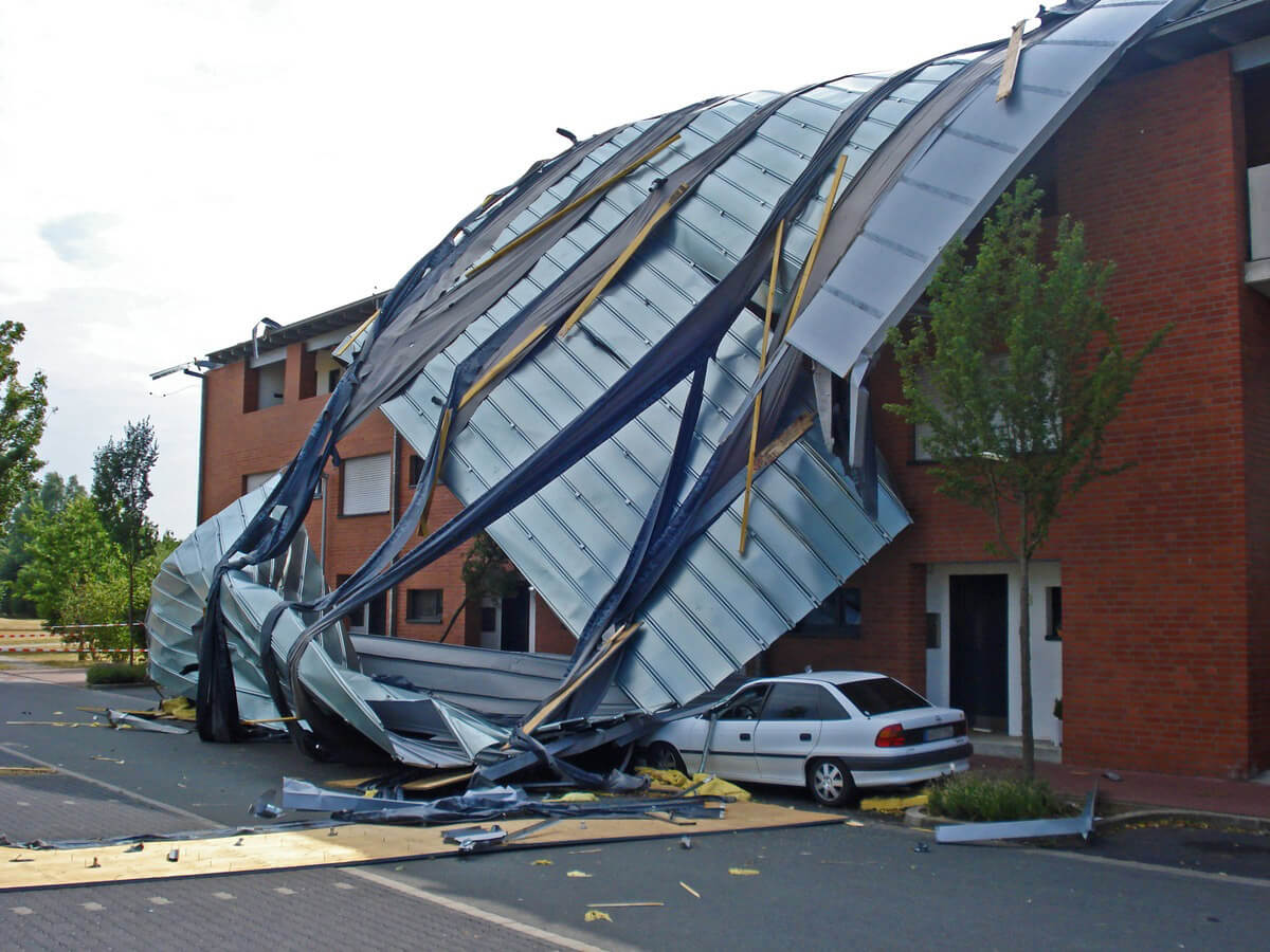 Koontz Roofing and Exteriors - Insurance Claim Process - Roof Storm Damage