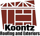 Koontz Roofing and Exteriors Logo